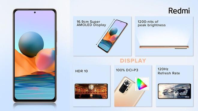 Redmi Note 10 series ra mắt: Snapdragon 678/732G, màn hình AMOLED 120Hz, camera lên tới 108MP, pin 5000mAh, giá chỉ từ 3.8 triệu đồng - Ảnh 4.